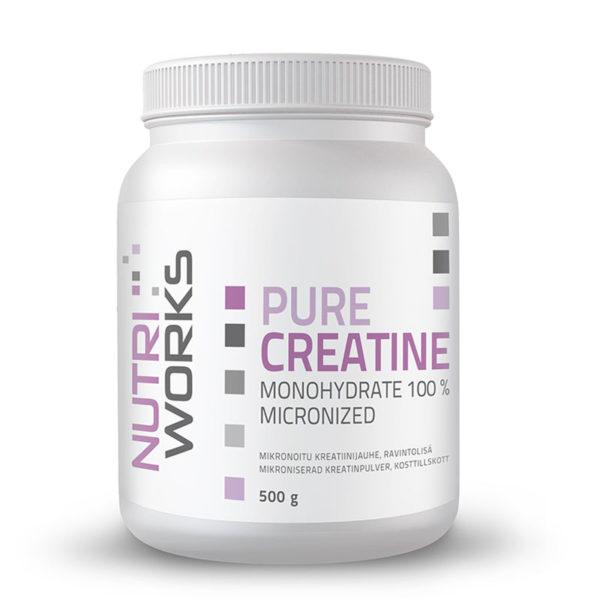 Nutri Works Creatine Monohydrate - kreatiinimonohydraatti