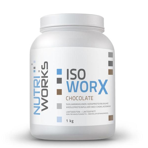 Nutri Works Iso WorX Suklaa heraproteiini-isolaatti1kg