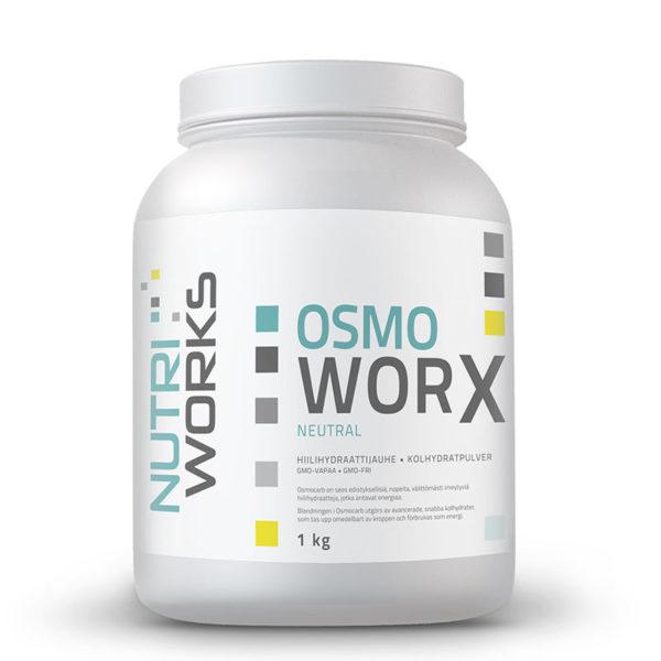 Nutri Worx Osmo Worx hiilihydraattivalmiste 1kg