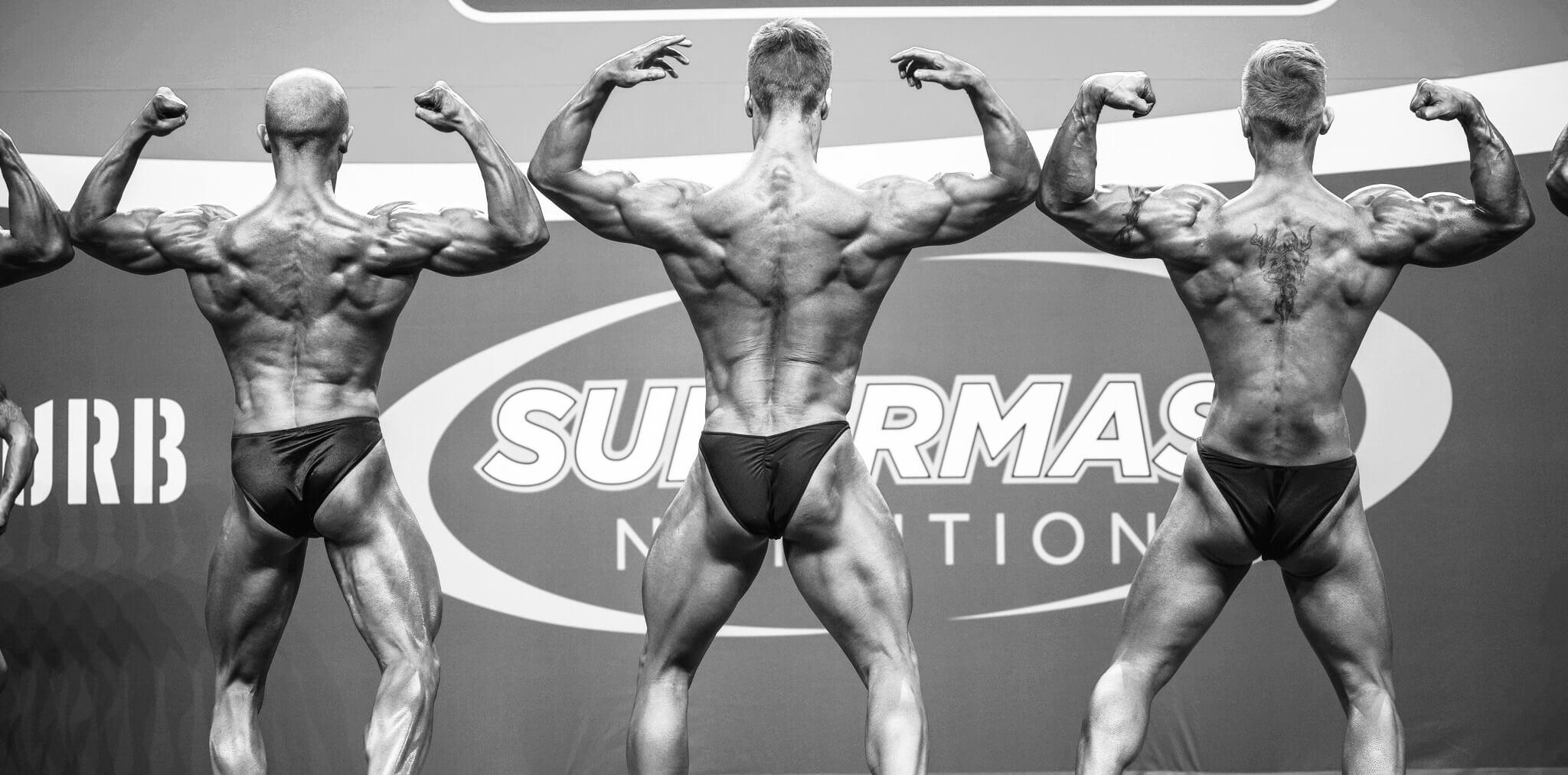 Classic bodybuilding - tuplahauikset takaa