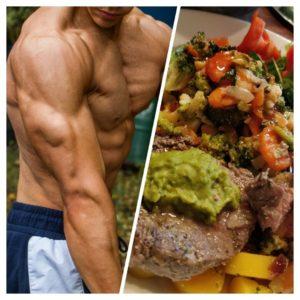 Kuntosaliohjelma ja sitä tukeva ruokavalio